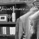 自宅でできるスーツのメンテナンス -Maintenance-