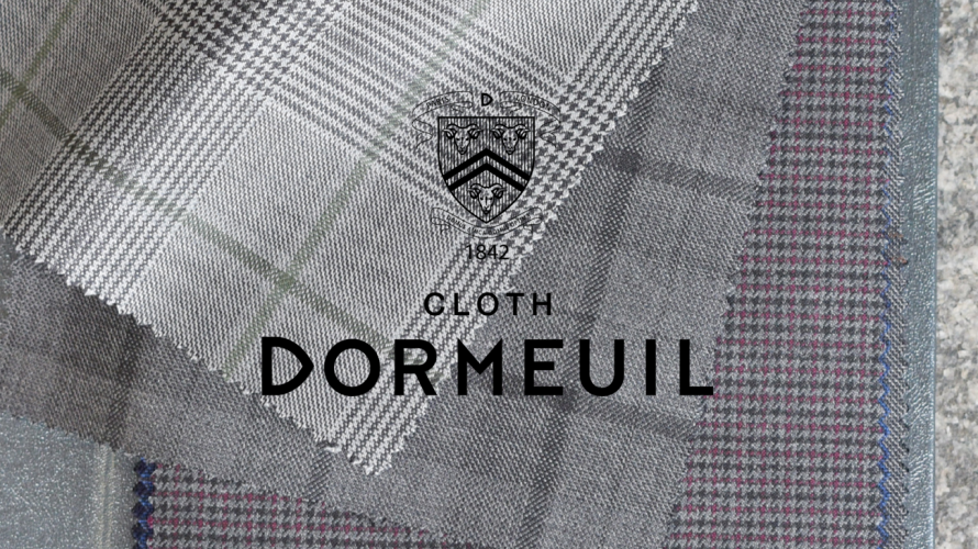 """DORMEUIL(ドーメル) 2020SS COLLECTION """"PICK UP"""""""