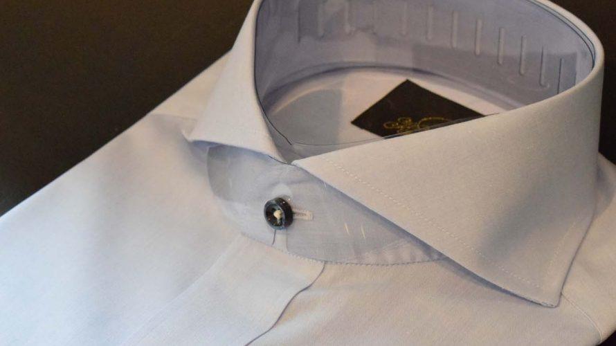 order shirts -sax- / オーダーシャツ -形態安定シャツ-