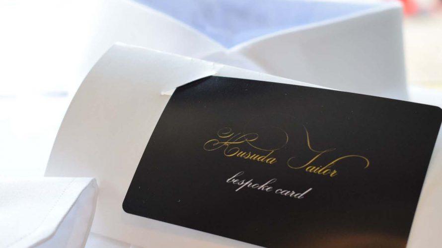 -お仕立券- bespoke card(ビスポーク カード)