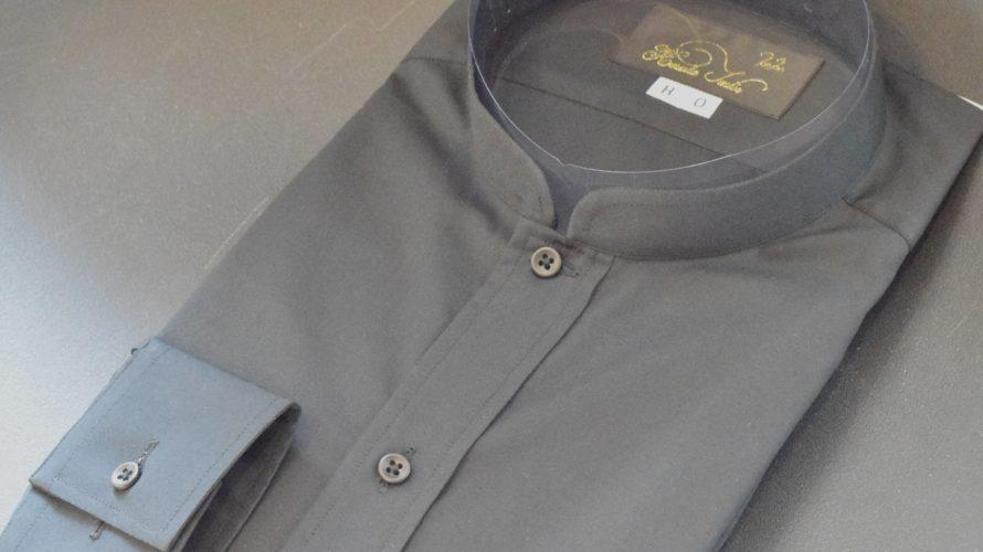 mandarin collar -order shirts-